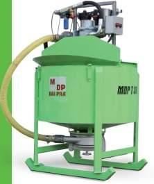 MDP T - Mixer - agitator de beton
