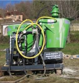 Minimix cu unitate de alimentare hidraulica