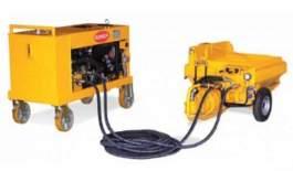 Pompa cu unitate de control diesel